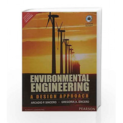 Environmental Engineering: A Design Appr by Sincero Book-9789332549630