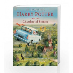Harry Potter and the Chamber of Secrets by J.K. Rowling Book-9781408845653