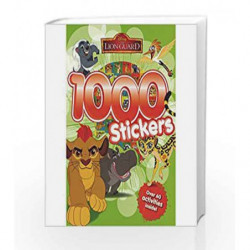 Disney The Lion Guard 1000 Stickers by Parragon Book-9781474844819