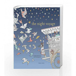 The Night Voyage (Time Adult Coloring Books) by Daria Song Book-9780399579042