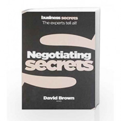 Secrets - Negotiating (Collins Business Secrets) by David Brown Book-9780007328079