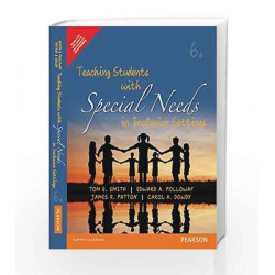Teaching Students with Social Needs in i by Polloway/Patton Book-9789332550223