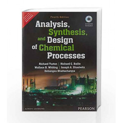 Analysis, Synthesis and Design of Chemical Processes by N.D. Turton Book-9789332550346