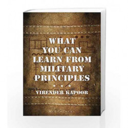 What You Can Learn From Military Principles by Virender Kapoor Book-9789386141934