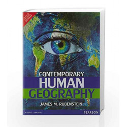 Contemporary Human Geography by Rubenstein Book-9789332550391
