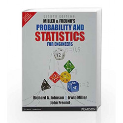 Miller & Freund's and Statistics for Eng by Johnson/Miller Book-9789332550414