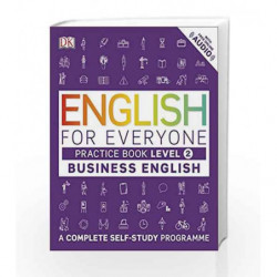 English for Everyone Business English Level 2 Practice Book by DK Book-9780241275153