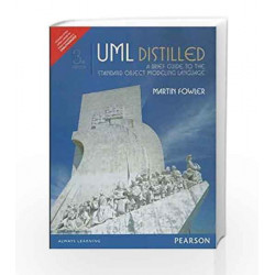 UML Distilled With Access codes: A Brief Guide to the Standard Object Modeling Language by Fowler Book-9789332553934
