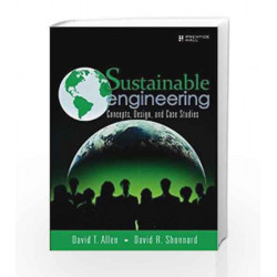 Sustainable Engineering: Conc Des and ca by Allen Book-9789332556577