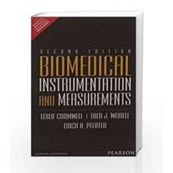 Biomedical Instrumentions and Measuremen by Cromwell Book-9789332556911