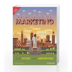 Principles of Marketing 15/e (4 Colors) by Kotler Book-9789332558472