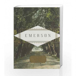 Emerson Poems (Everyman's Library POCKET POETS) by Ralph Waldo Emerson Book-9781841597621