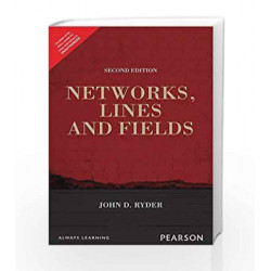 Networks Lines & Fields 2/e by John D. Ryder Book-9789332559516
