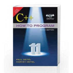 C++ How to Program (Early Objects Versio by Deitel Book-9789332559592