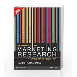 Essentials of Marketing Research by Malhotra Book-9789332571198