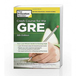 Crash Course for the GRE (Graduate School Test Preparation) by PRINCETON REVIEW Book-9780451487841