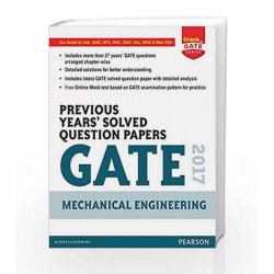 Gate Prev Yrs' ME 2017 by Pearson Editiorial Book-9789332576063