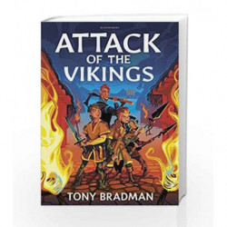 Attack of the Vikings (Flashbacks) by Tony Bradman Book-9781472929402