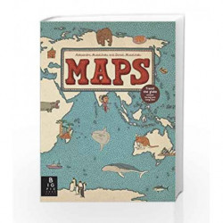 Maps by Daniel Mizielinski Book-9781848773011