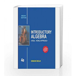 Introductory Algebra: A Real - World Approach by Ignacio Bello Book-9789339204402