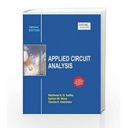 Applied Circuit Analysis by Mathew N.O. Sadiku Book-9789339204440