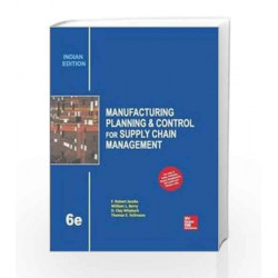 Manufacturing Planning and Control for Supply Chain Management by Jacobs Book-9789339205331