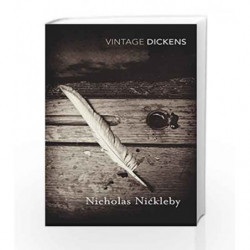 Nicholas Nickleby (Vintage Classics) by Charles Dickens Book-9780099540793