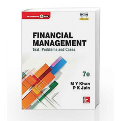 Financial Management by M.Y. Khan Book-9789339213053