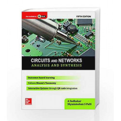 Circuits and Networks: Analysis and Synthesis by A. Sudhakar Book-9789339219604