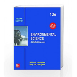 Environmental Science: A Global Concern by William Cunningham Book-9789339221263