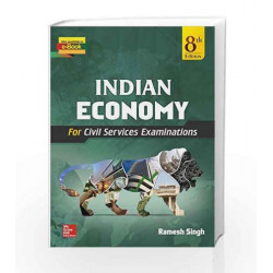 Indian Economy by Ramesh Singh Book-9789339221294
