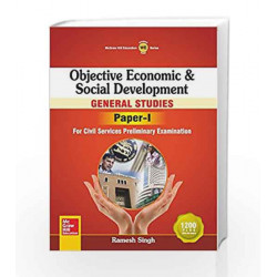 Objective Economic and Social Development: General Studies - Paper I by  Book-9789339221300