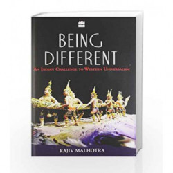 Being Different: An Indian Challenge to Western Universalism by MALHOTRA RAJIV Book-9789350291900