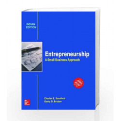 Entrepreneurship: A Small Business Approach by Charles Bamford Book-9789339221584