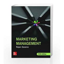 Marketing Management by Rajan Saxena Book-9789339223304