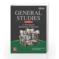 General Studies for Civil Services Preliminary Examination, Paper-I by MHE Book-9789339224172