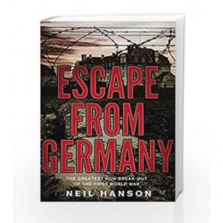 Escape From Germany by Neil Hanson Book-9780552155496