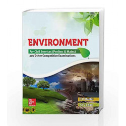 Environment for Civil Services Prelims and Mains and Other Competitive Examinations by D R Khullar Book-9789339224981