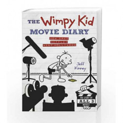 The Wimpy Kid Movie Diary: How Greg Heffley Went Hollywood (Diary of a Wimpy Kid) by Jeff Kinney Book-9780141345154