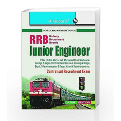 RRB: Junior Engineer Centralised Recruitment Exam Guide by RPH Editorial Board Book-9789350125120