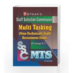 SSC Multi Tasking Staff Recruitment Exam: Group - C (Non-Technical) by Lal Book-9789350131961