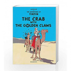 The Crab with the Golden Claws (Tintin) by Herge Book-9781405208086