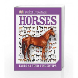 Pocket Eyewitness Horses by NA Book-9781409324829
