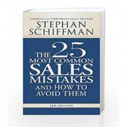 25 Most Common Sales Mistakes and How to Avoid Them by Stephan Schiffman Book-9781598698213