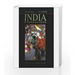 India-Splendour and Colour by Suzanne Held Book-9788187107439