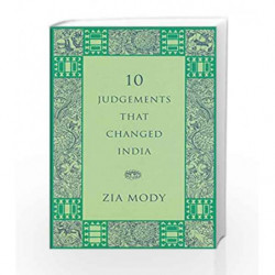 10 Judgements That Changed India by Mody Zia Book-9780670086627