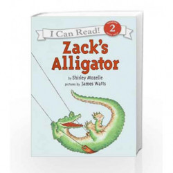 Zack's Alligator (I Can Read Level 2) by Shirley Mozelle Book-9780064441865