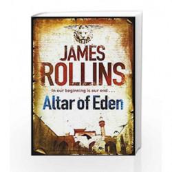 Altar of Eden by James Rollins Book-9781409117551