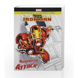 The Invincible Iron-Man: Armored Attack (Marvel Colouring and Activity Book) by DISNEY Book-9789381409268