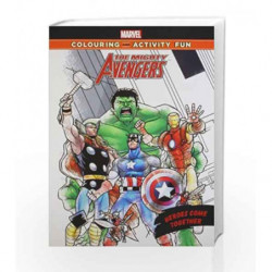 The Mighty Avengers: Heroes Come Together (Marvel Colouring and Activity Book) by The Walt Disney Book-9789381409275